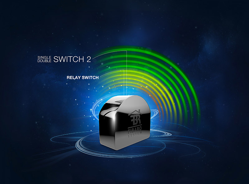 Fibaro moduł wykonawczy Single Double Switch