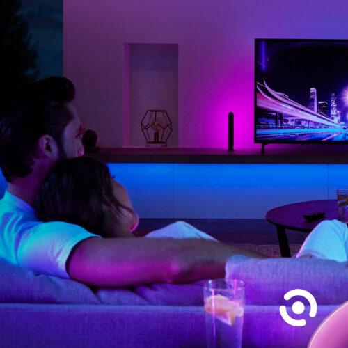 Zestaw startowy taśma LED Philips Hue LightStrips+ V4 2020 RGBW (2m, 1600lm)