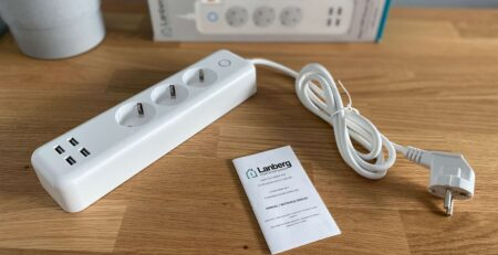 Listwa Lanberg Smart Power Strip SM01-WPS34