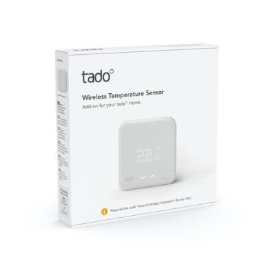 Bezprzewodowy czujnik temperatury tado° (Rozszerzenie do inteligentnej głowicy termostatycznej)