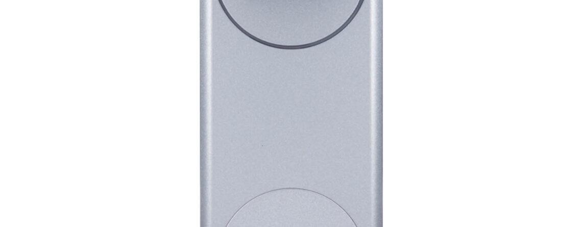 Inteligentny zamek Yale Linus® Smart Lock srebrny