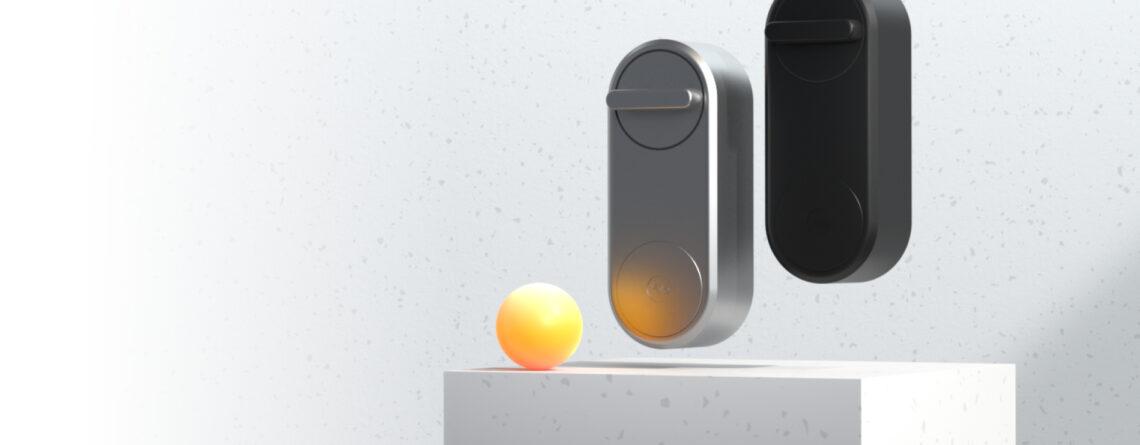 Zestaw inteligentny zamek Yale Linus® Smart Lock czarny z mostkiem centralnym