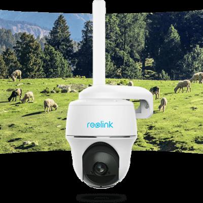 Kamera bezprzewodowa Reolink GO PT 4G LTE Full-HD + Panel Solarny