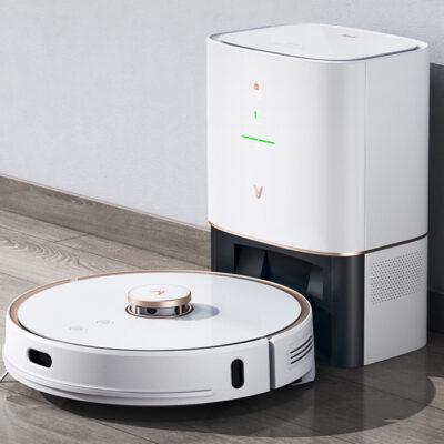 Inteligentny robot odkurzająco-mopujący Viomi S9 biały PEŁEN ZESTAW